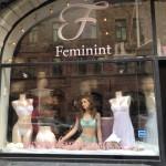 feminint skyltfönster