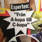 Miranda Kerrs påstådda storlek