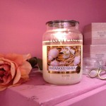 "Yankee Candle ""Sandalwood Vanilla"" Stor, Lisbeth Dahl Ros, Yankee Candle Wick-trimmer"