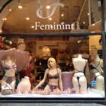 Feminint Skyltfönster Rosa