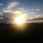 Kvällssol och midsommar på landet!